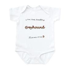 Breathe Orange Infant Bodysuit