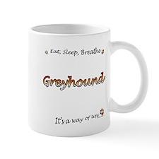 Breathe Orange Mug