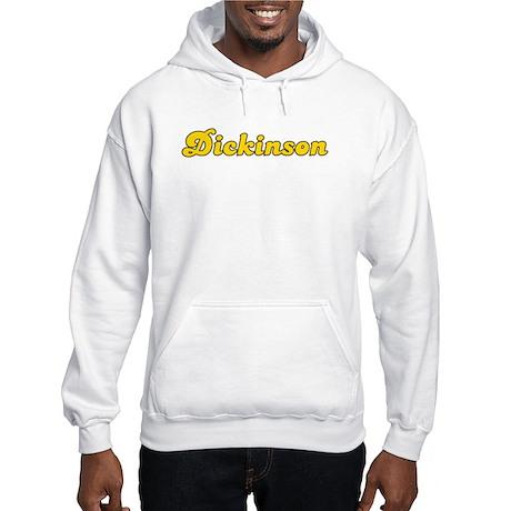 Retro Dickinson (Gold) Hooded Sweatshirt