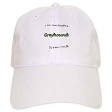 Breathe Green Baseball Cap