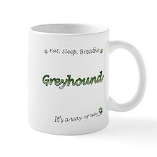 Breathe Green Mug