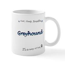 Breathe Blue Mug