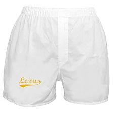 Vintage Lexus (Orange) Boxer Shorts