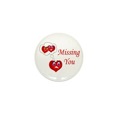 Missing You Mini Button (10 pack)