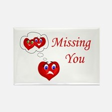 Missing You Rectangle Magnet