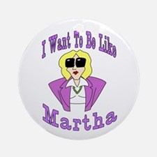 Like Martha Keepsake (Round)