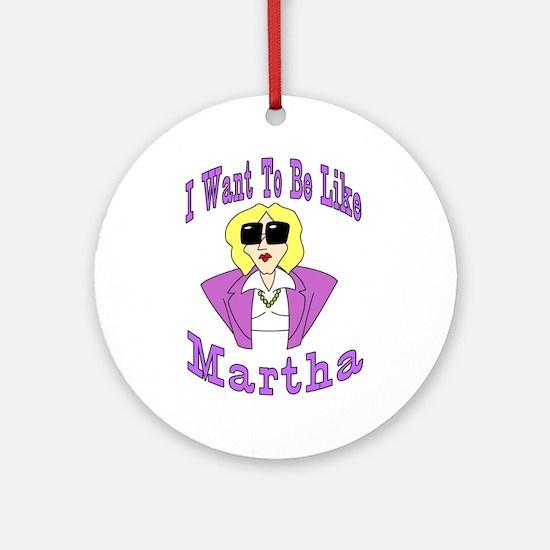 Like Martha Keepsake (Round)