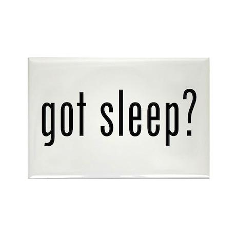 got sleep? Rectangle Magnet