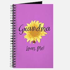 Grandma Loves Me Journal