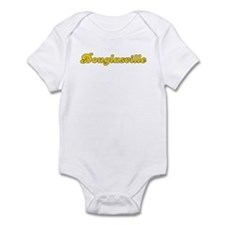 Retro Douglasville (Gold) Infant Bodysuit