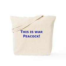 War Peacock - Clue Tote Bag