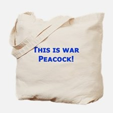 War Peacock - Clue Tote Bag