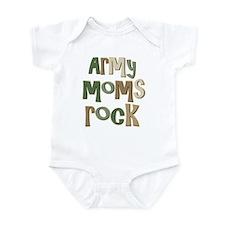 Military Army Moms Rock Infant Bodysuit
