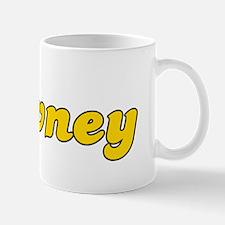 Retro Downey (Gold) Mug