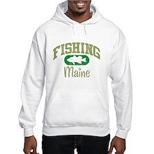FISHING MAINE Hoodie