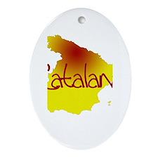 Catalana Oval Ornament