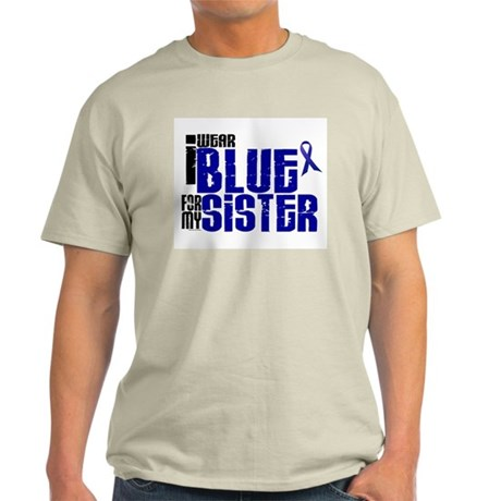 I Wear Blue For My Sister 6 Light T-Shirt