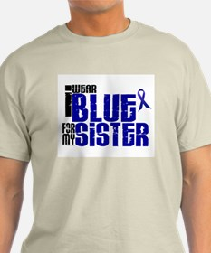 I Wear Blue For My Sister 6 T-Shirt