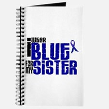 I Wear Blue For My Sister 6 Journal