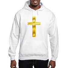 Golden Cross Jumper Hoody