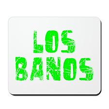 Los Banos Faded (Green) Mousepad