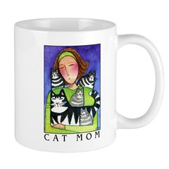 CAT MOM No.2... Cocoa or Coffee Mug