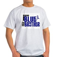 I Wear Blue For My Brother 6 T-Shirt