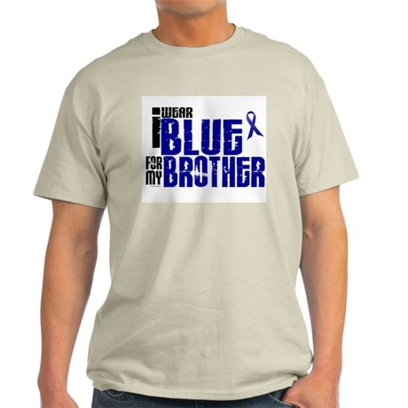 I Wear Blue For My Brother 6 Light T-Shirt