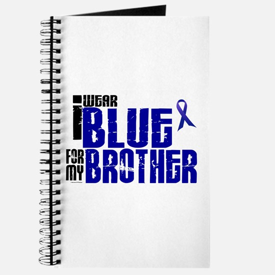 I Wear Blue For My Brother 6 Journal