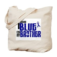 I Wear Blue For My Brother 6 Tote Bag