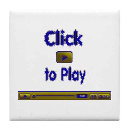 Click to Play Tile Coaster