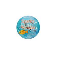 Sparky the Wonderfish Mini Button