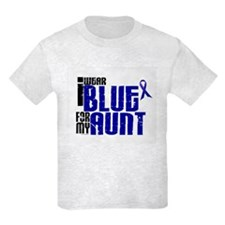 I Wear Blue For My Aunt 6 T-Shirt