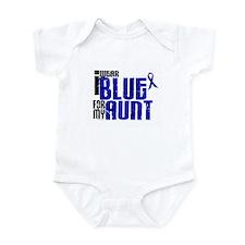 I Wear Blue For My Aunt 6 Infant Bodysuit