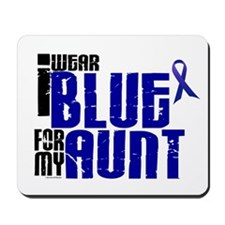 I Wear Blue For My Aunt 6 Mousepad
