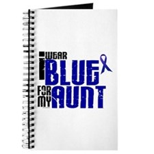 I Wear Blue For My Aunt 6 Journal