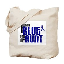I Wear Blue For My Aunt 6 Tote Bag