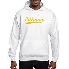 Vintage Lilliana (Orange) Hoodie Sweatshirt
