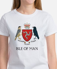 Isle of Man Coat of Arms Women's T-Shirt