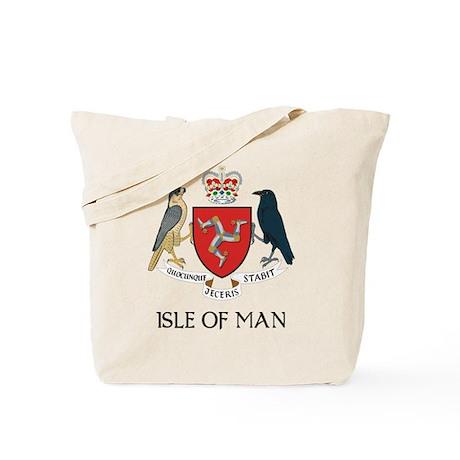 Isle of Man Coat of Arms Tote Bag