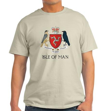 Isle of Man Coat of Arms Light T-Shirt