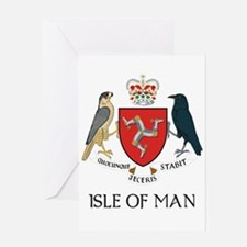 Isle of Man Coat of Arms Greeting Card