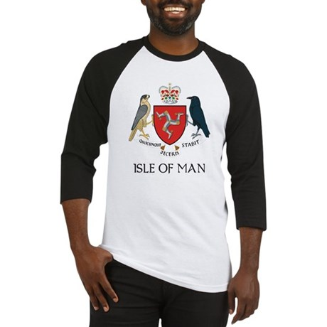 Isle of Man Coat of Arms Baseball Jersey
