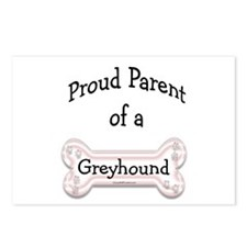 Proud Parent Red Postcards (Package of 8)