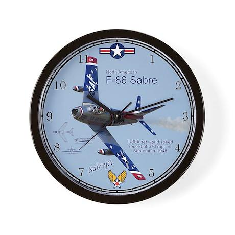 F-86 Sabre Wall Clock