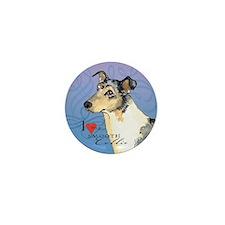 Smooth Collie Mini Button