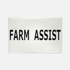 Farm Assist Rectangle Magnet