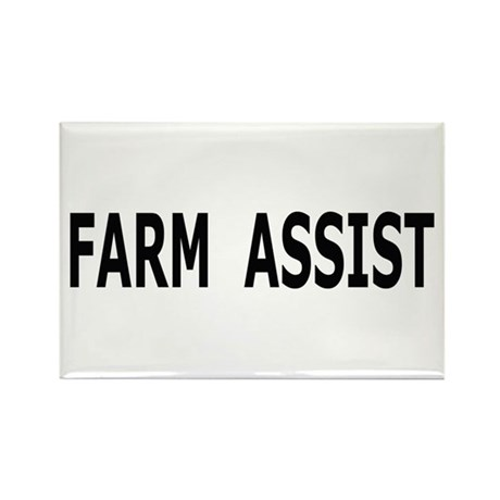 Farm Assist Rectangle Magnet (100 pack)