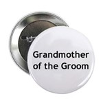Grandmother of the Groom Button