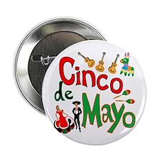 "Cinco de Mayo 2.25"" Button (10 pack)"